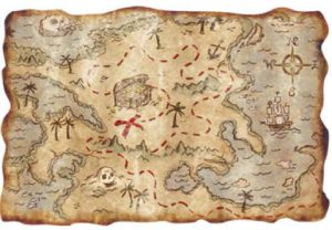 Pirate Pete's Pirate Map